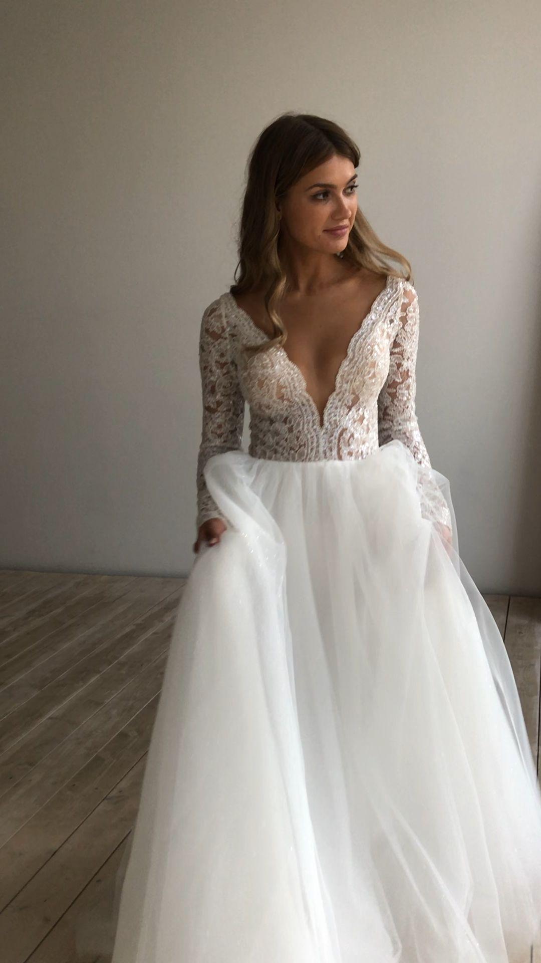 Wedding Dresses Wedding Gowns 2020 Emerald Green Satin