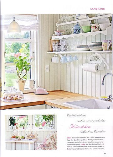 Landhaus Magazine Scan 1 of 7 scans Sugar bears and Kitchens - Ikea Küchen Landhaus