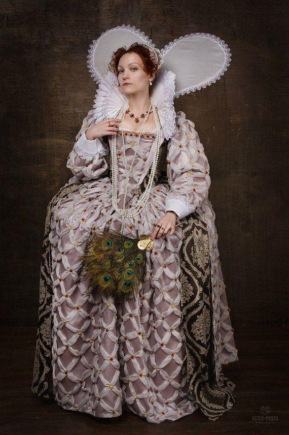Elisabeth i von england kost m set england aus dem 16 for Mode aus england