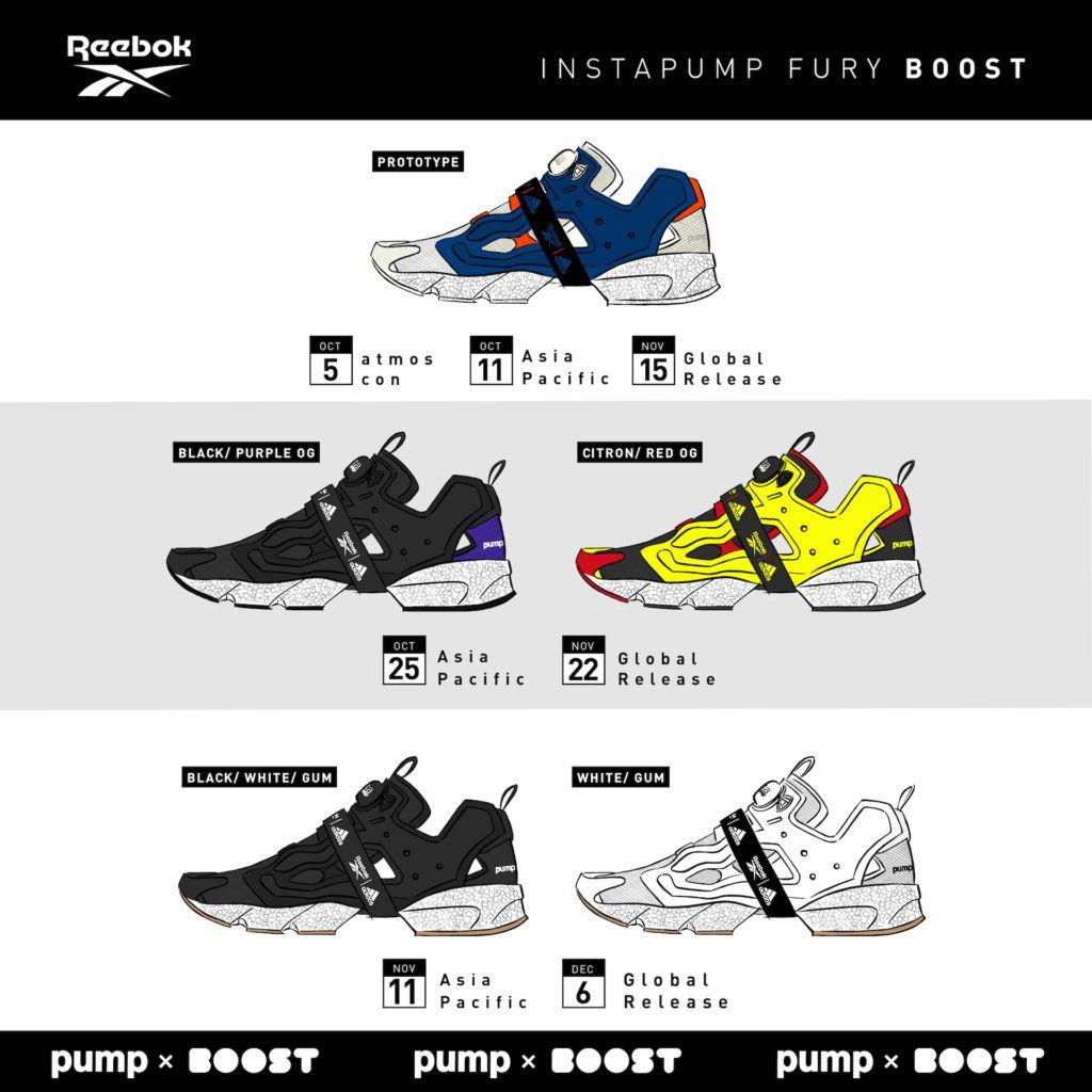 REEBOK INSTAPUMP FURY BOOST   Instapump fury, Adidas boost
