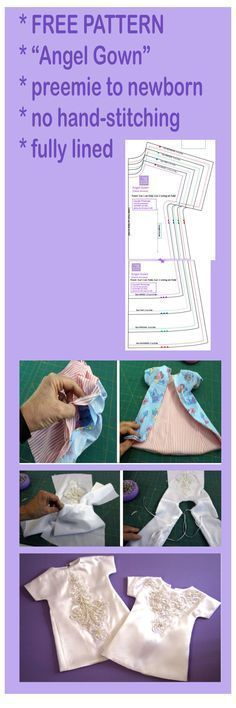 LinedAngelGown copy … | Sewing |…