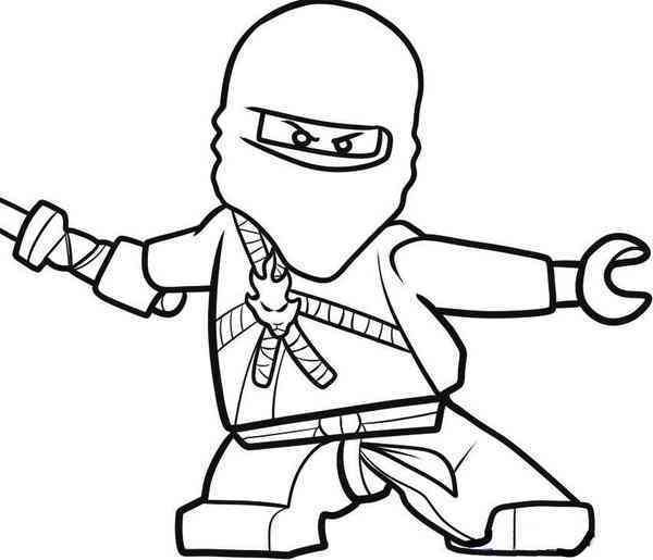 Colorear dibujo Ninjago 14  dibujos  Pinterest  Patterns