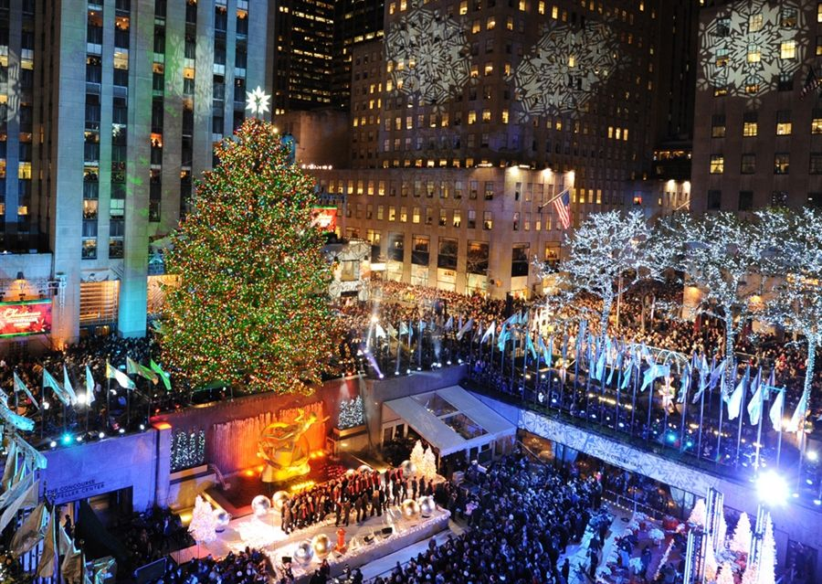This is the most famous Christmas tree in the world outside