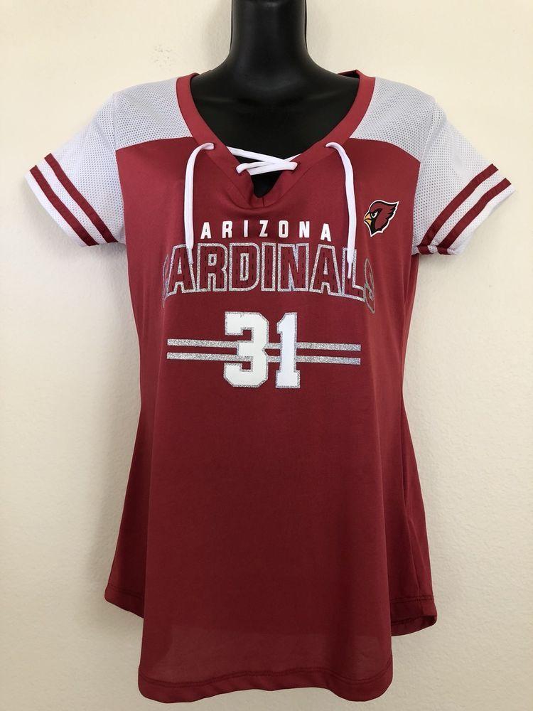 NFL Arizona Cardinals Jersey TopArizona Cardinals Johnson Jersey Womens  Medium (eBay Link) 8e35f96e58