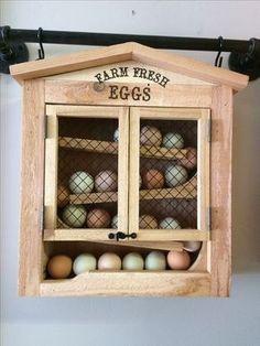 Egg Dispenser Keeps Fresh Eggs In Order The Coop