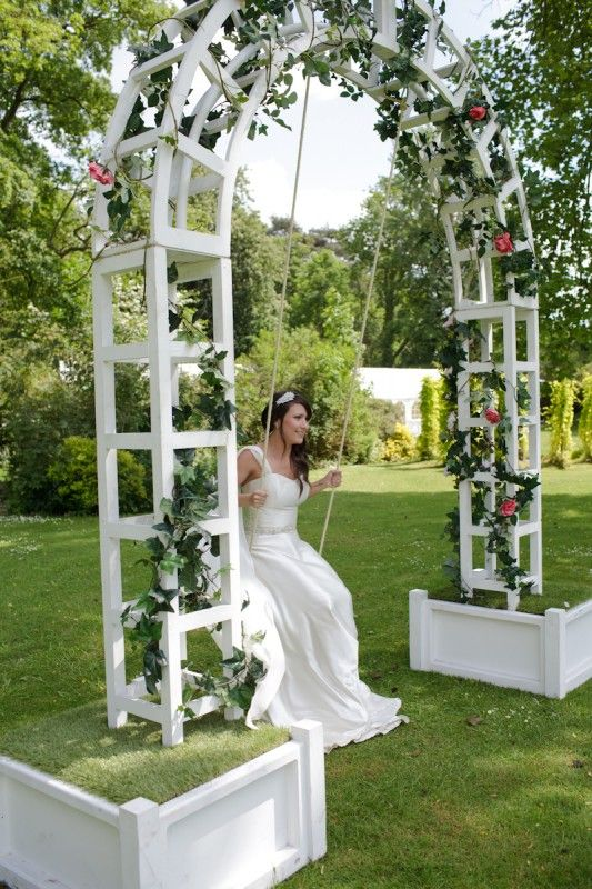 Swing Chair Hire Swivel For Car Trellis Arbor With Seat Not Swinging On In 2019 Alice Wedding Prop Themes Event