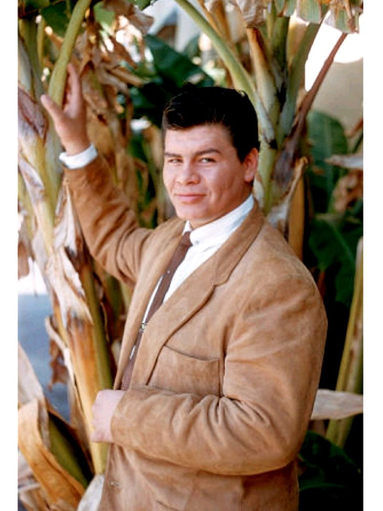Ritchie Valens died at age 17 in the plane crash that
