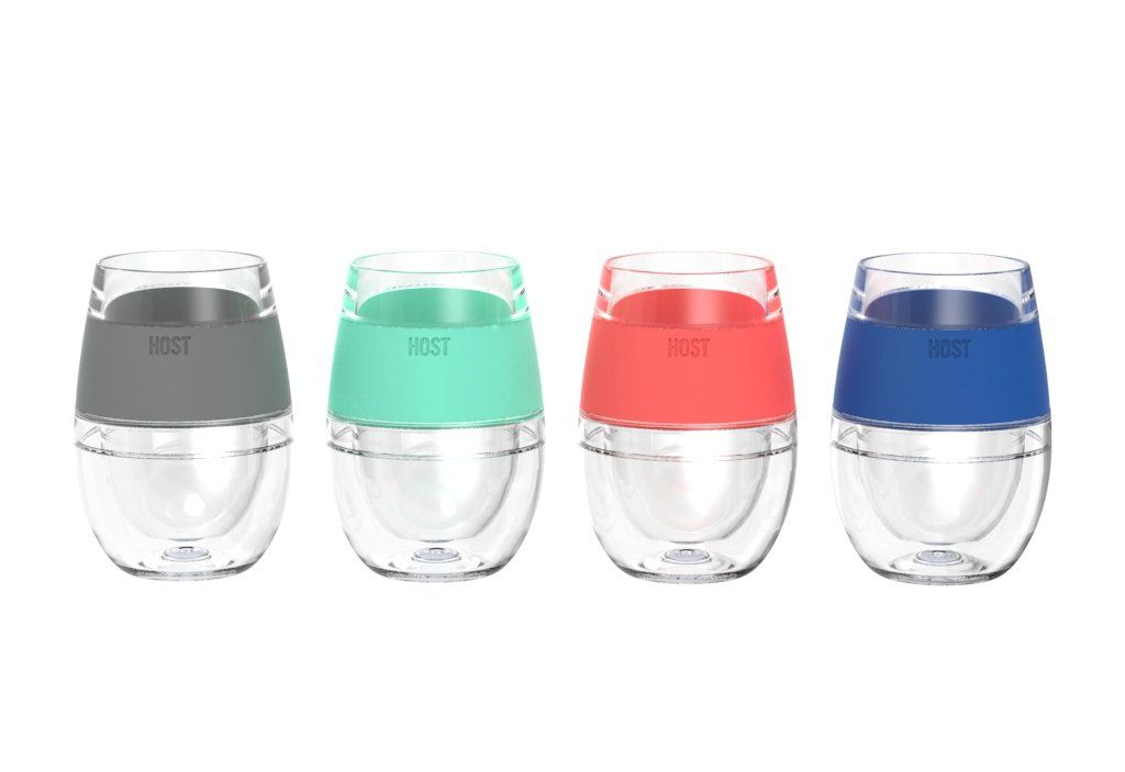 Wine Freeze Cooling Cups Set Of 4 Wine Wine Related Gifts