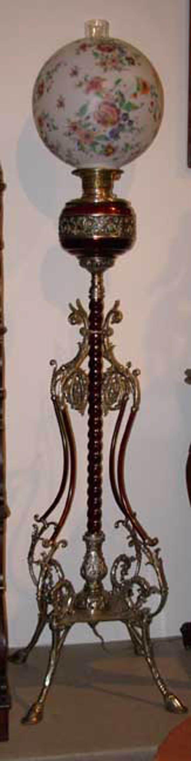 Antique floor lamp stuff i like pinterest antique floor antique floor lamp victorian geotapseo Image collections