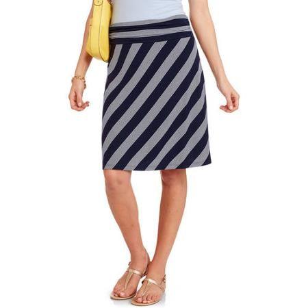 d1944e7b5 Faded Glory Women's Midi Skirt - Walmart.com | Fashion | Skirts ...