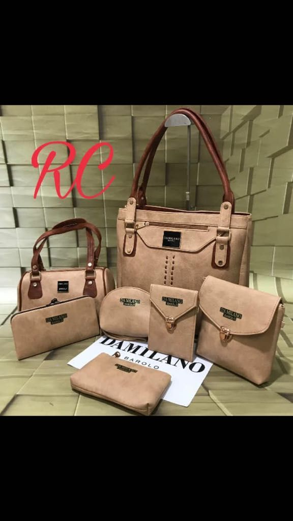 08ba0ddfdec2df DA MILANO 7 Purse ComBo For Her in 2019 | Leathers | Purses, Pu leather,  Bags