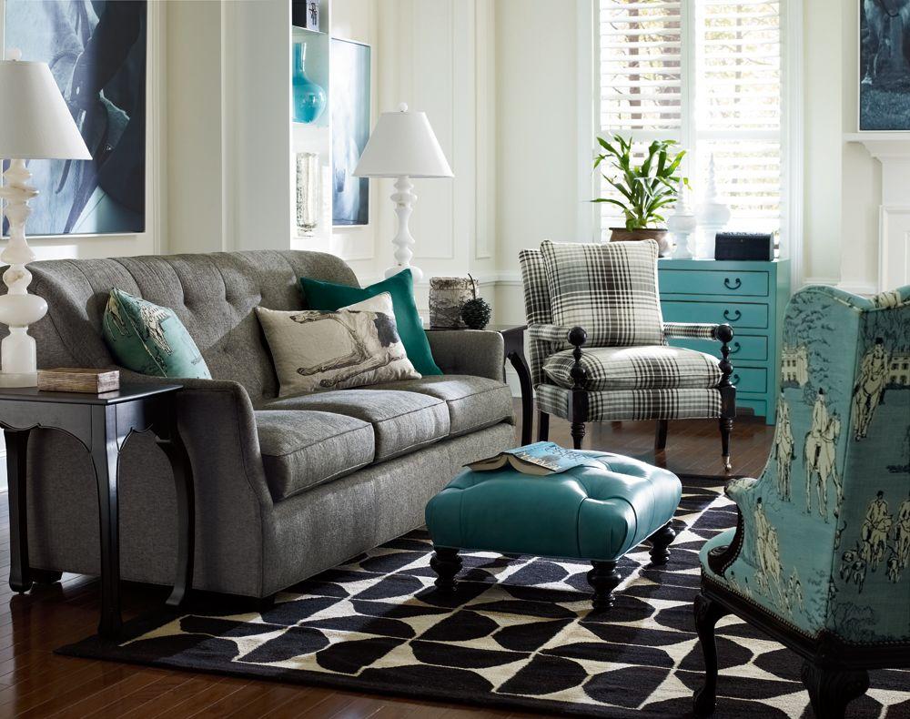 Best Bradstreet Chair Teal Living Rooms Living Room Grey 640 x 480