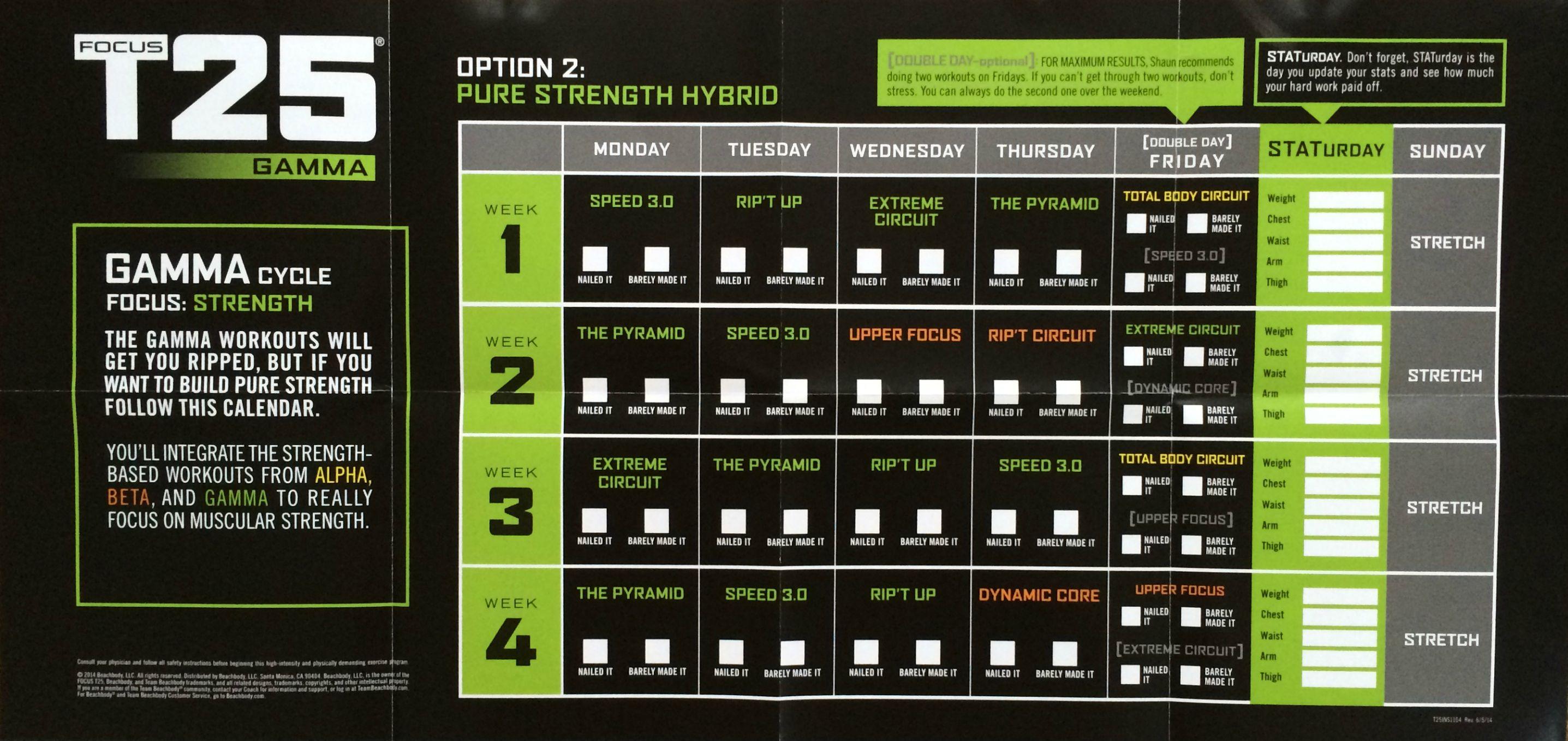 P90x3 T25 Hybrid Workout Schedule Eoua Blog - Newwallpaperjdi co