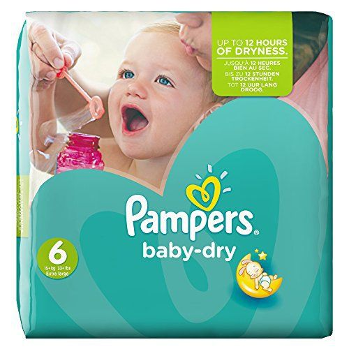 Pampers Baby Dry Couches Taille 6 15 Kgxl Pack économique