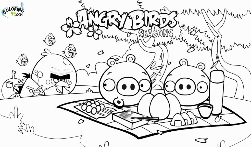 angry birds 2 coloring pages - Printable Bird Pictures 2