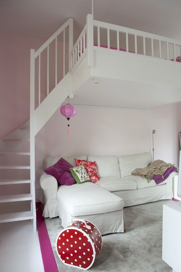Awesome Bed For Little Girls Room Loft Pinterest