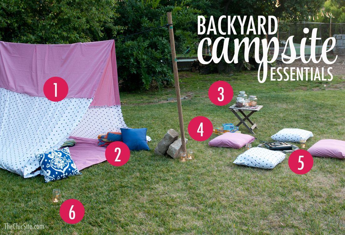 16+ Backyard camping ideas info