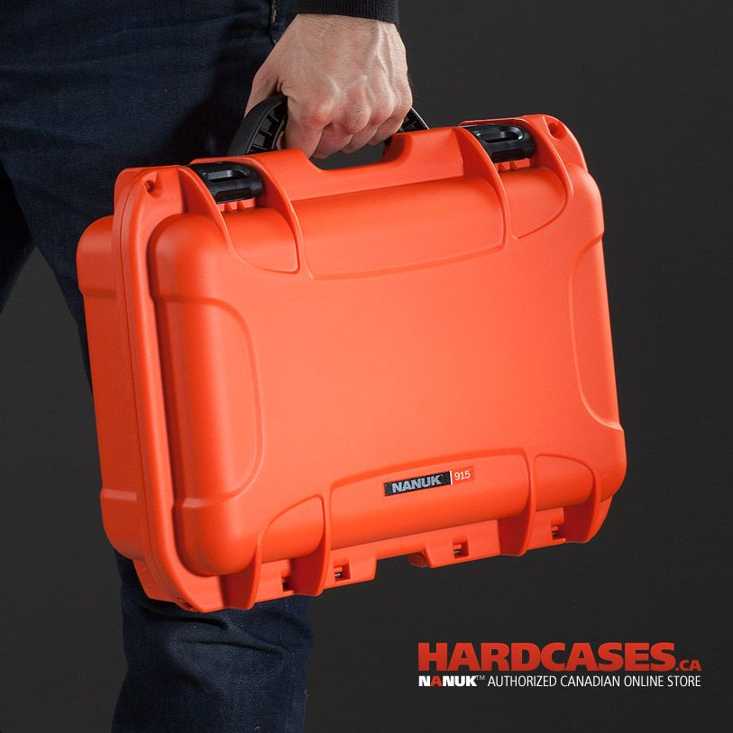 One of my personal favorite color is the Orange Nanuk case. This is the 915! Perfect case for your first GoPro Cameras Kit!