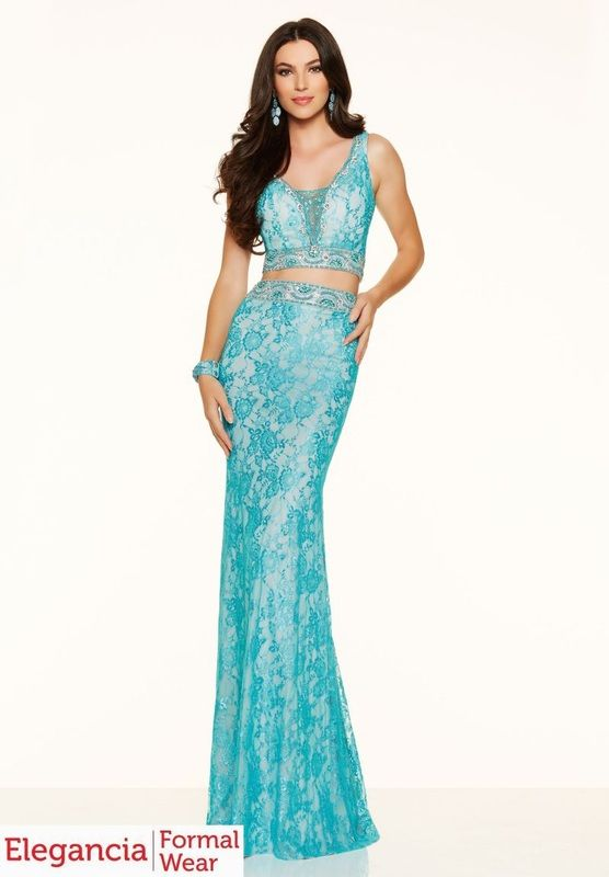 http://eleganciaformalwear.com/prom-dresses.html Beautiful two-piece ...