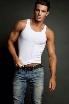 Steven Brewis #jeans I love this man. ❤❤ Nice image..   Men's ...