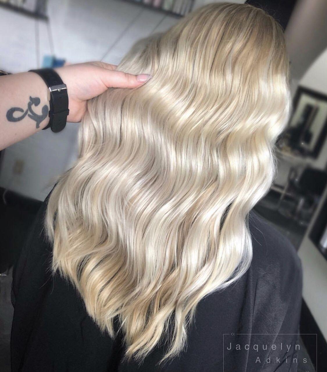 Follow My Instagram Unevneib Long Hair Blonde Hair Highlight