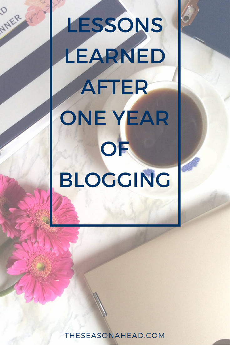 Lessons Learned After One Year of Blogging
