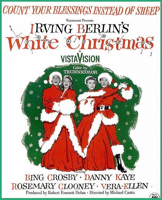 White Christmas, the Movie Bing Crosby White Christmas Pinterest