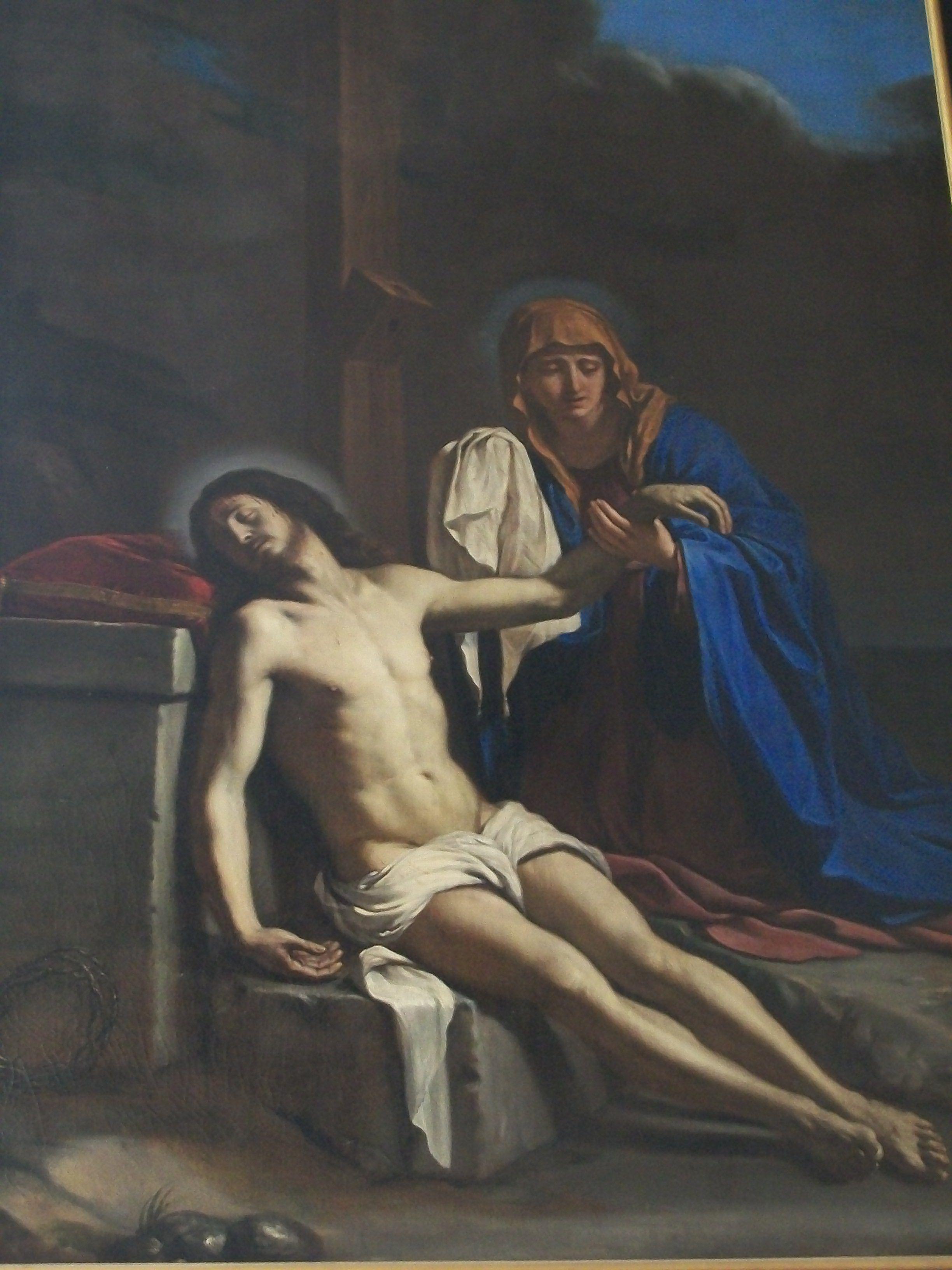 Guercino: Cristo sorretto dalla Vergine. 1643. Autun, St. Lazare