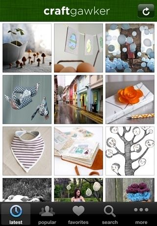Craftgawker App For Iphone Ipad Will Interest Teachers Who Use Crafts In The Classroom An App For Your Iphone Or Ipad Tha Iphone Apps Diy Apps Diy Projects