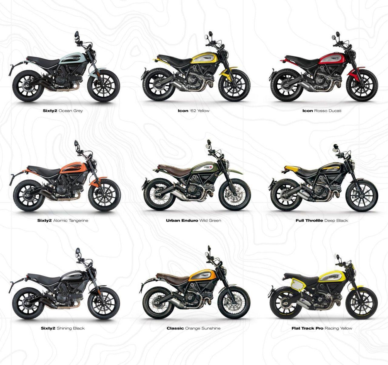 Ducati Scrambler Sixty2 Motorcycles Scrambler Motos