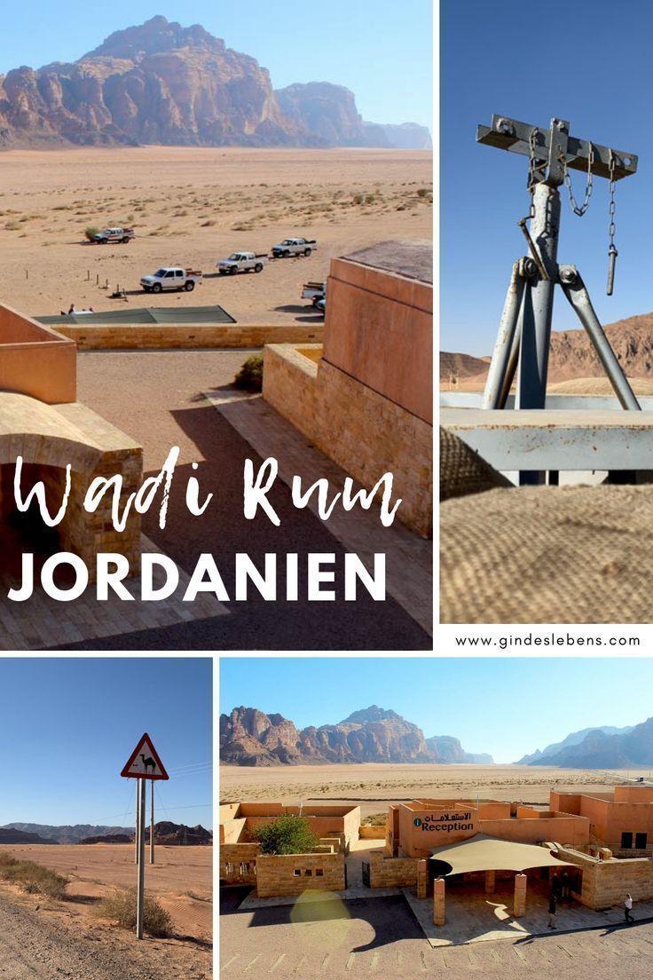 Wadi Rum Jordanien und der Al Hijaz Zug #wadirum Wadi Rum Wüste – Jordanien Url… – natalie