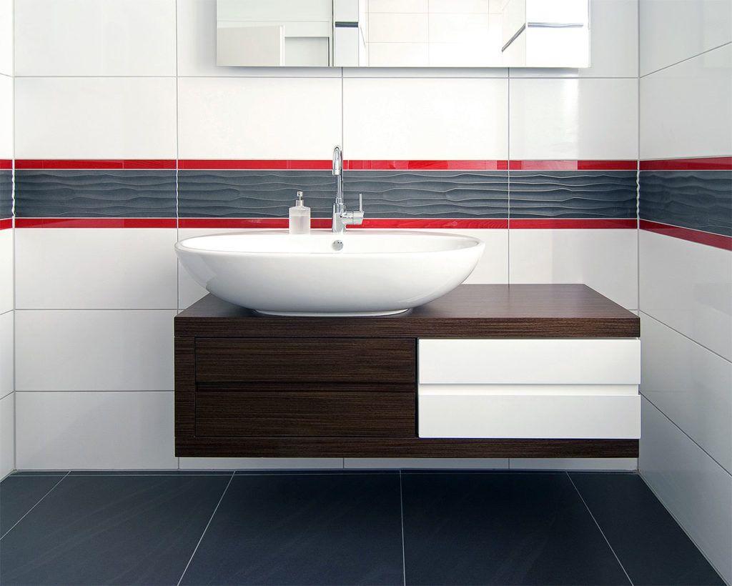 Lieblich Badezimmer Hinreißend Bad Fliesen Anthrazit Weiß Ideen: Meissen Keramik  Gmbh Onda Bad Fliesen Anthrazit Weiß