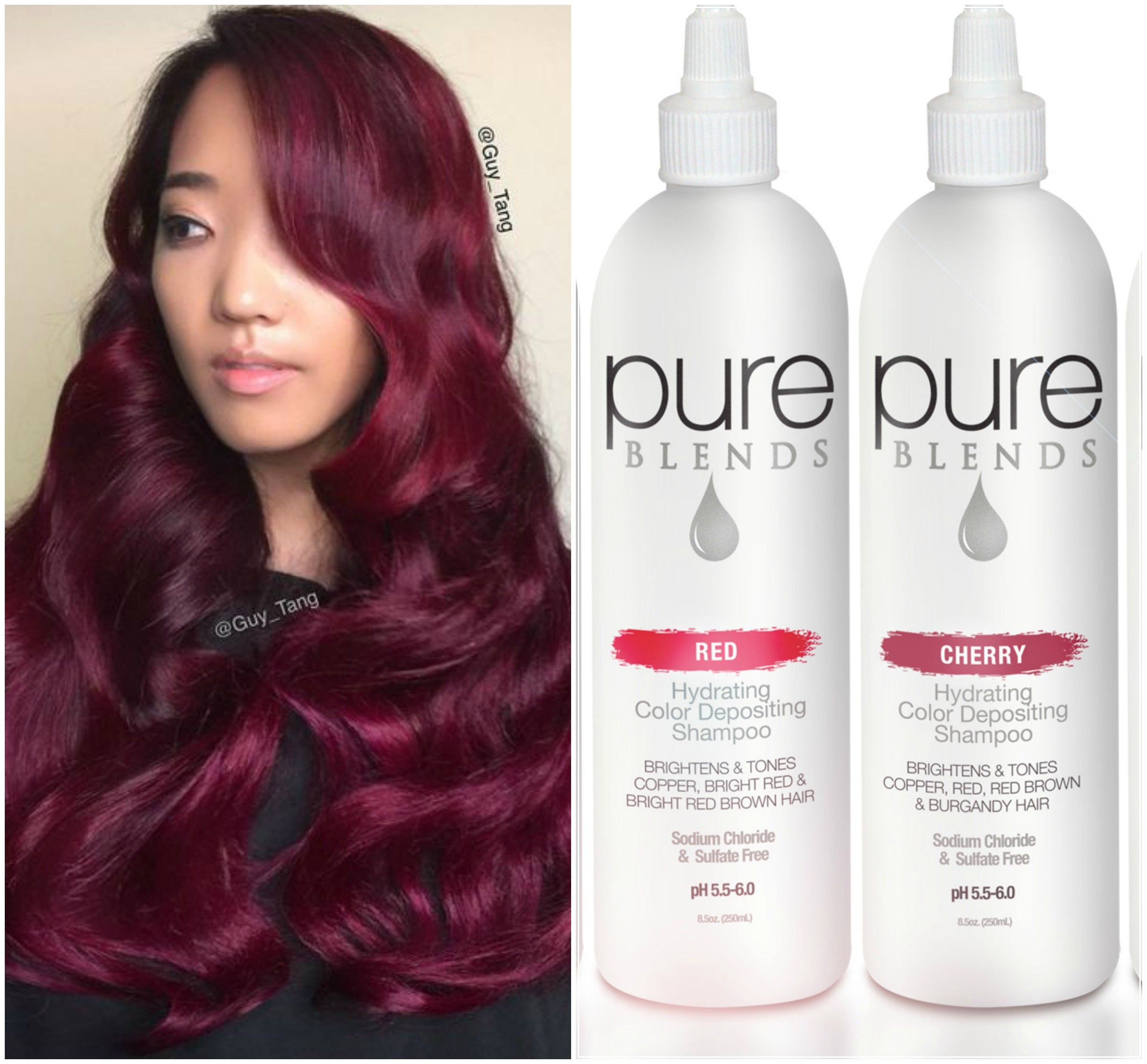 Keep Your Red Color Fresh With Red And Cherry Pure Blends Color