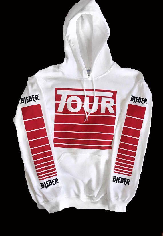 0af3aabdf716 Justin Bieber Stadium Tour Purpose Tour Merch Hoodie