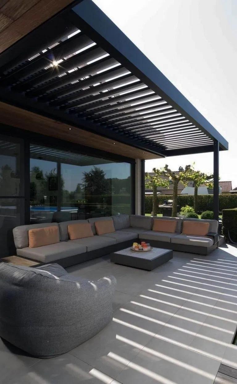 20 Best Inspiring Modern Home Gates Design Ideas Ever Built Allhous Com Homegates Homedesign Homegatesdesignideas Modern Patio Patio Design Pergola Patio