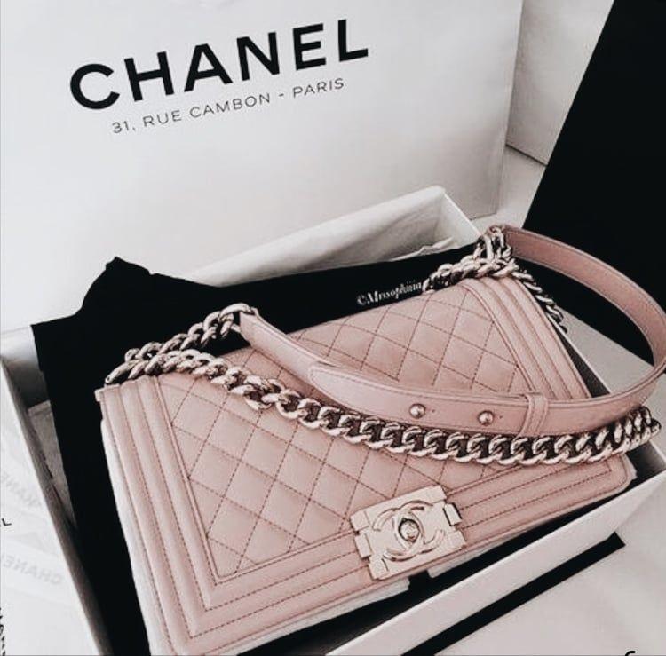 Aesthetic Beautiful Pastel Beauty Luxury Bag Style Chanel