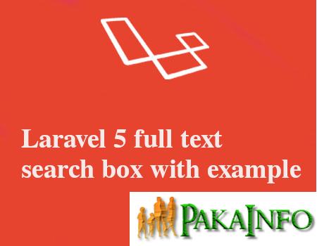 PHP Laravel Full Text Search in MYSQL Database | Angular 6 Tutorials