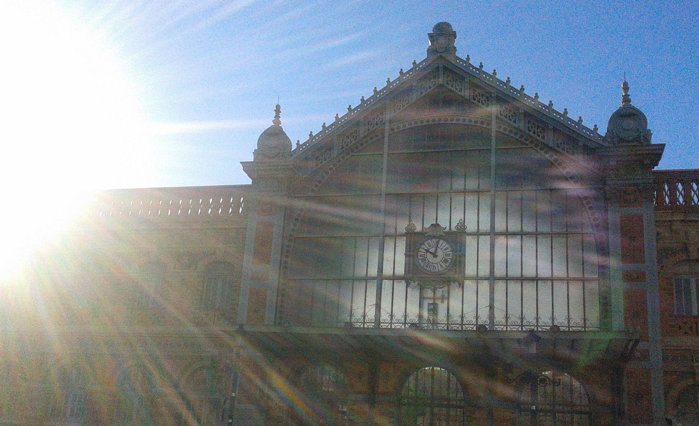 Antigua estación de trenes. Almería