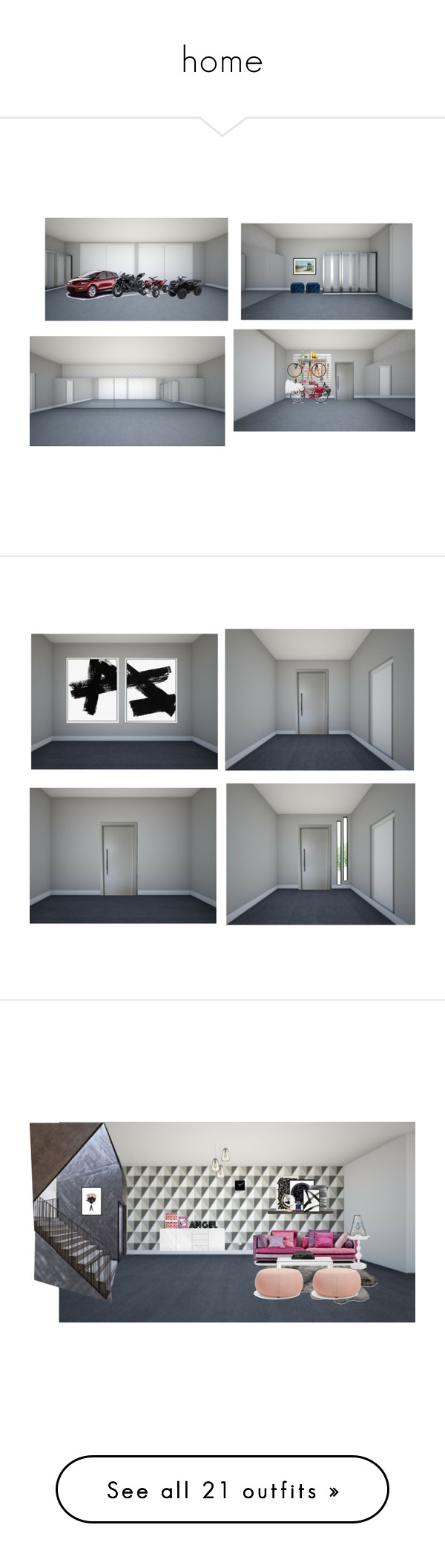 """home"" by paradapermitida on Polyvore featuring moda, Safavieh, WALL, Kawasaki, Gucci, interior, interiors, interior design, casa e home decor"
