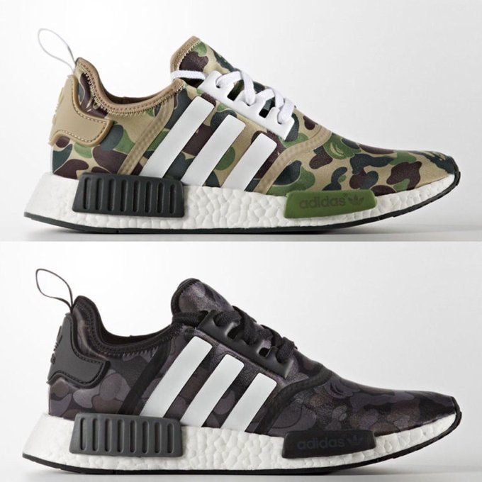 Pin by Sneaks OnFiree on BAPE x adidas NMD   Adidas shoes