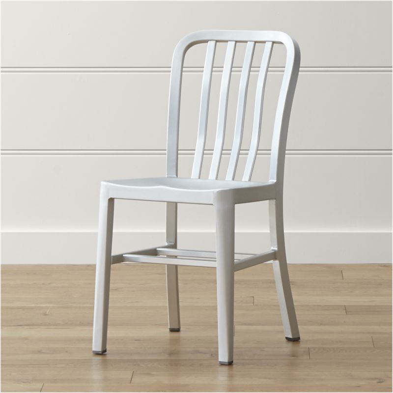 Delta Aluminum Dining Chair Reviews Crate And Barrel With