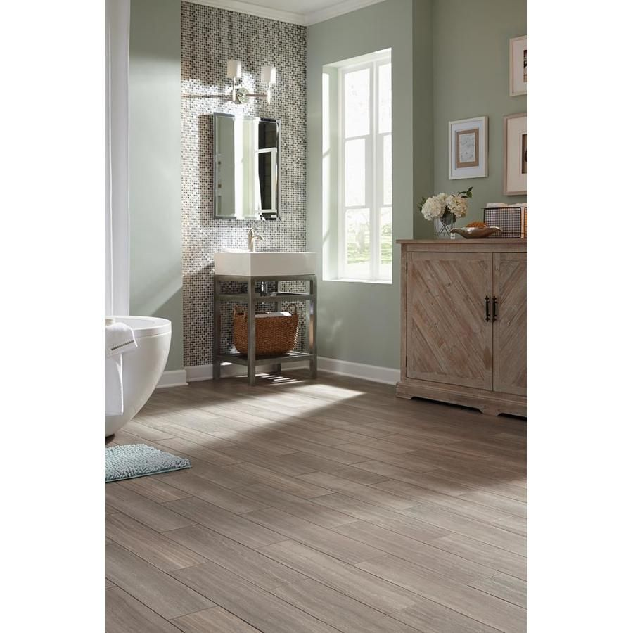 Style Selections 6 In X 24 In Groutable Chateau Peel And Stick Luxury Vinyl Tile Lowes Com Luxury Vinyl Tile Vinyl Tile Luxury Vinyl