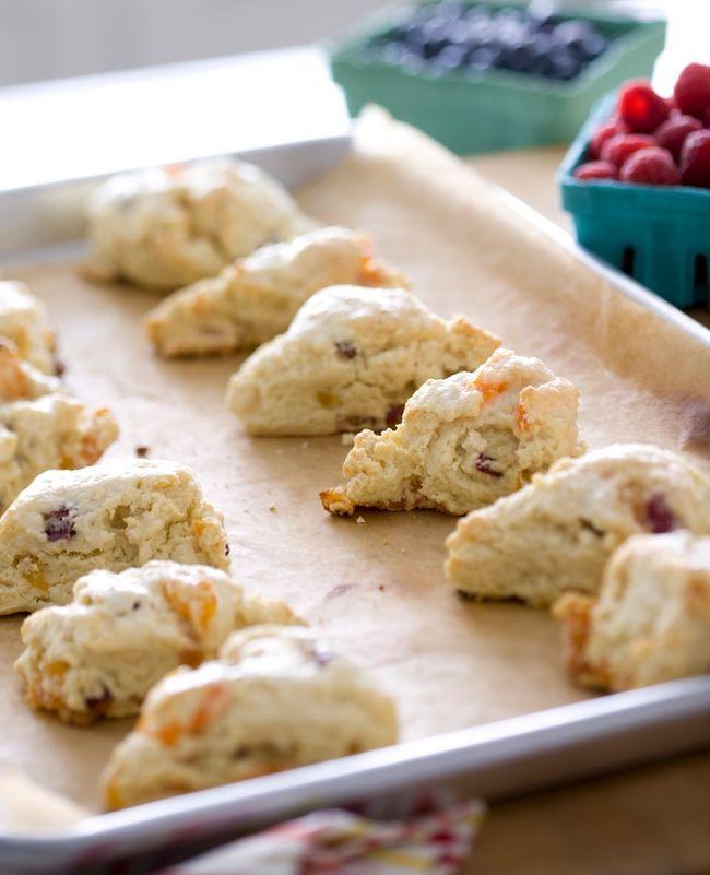 Trish Magwood S Apricot And Cranberry Buttermilk Scones Food Network Recipes Buttermilk Scone Recipe Food