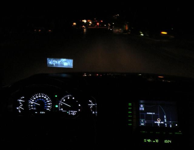 What is Automotive Night Vision?