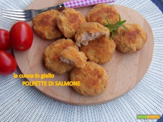 Polpette di salmone  #ricette #food #recipes