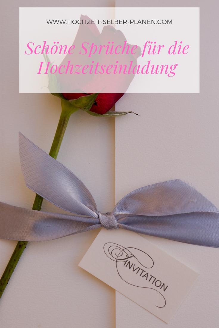 Schone Spruche Fur Die Hochzeitseinladung Hochzeitseinladung Spruche Hochzeit Einladungen