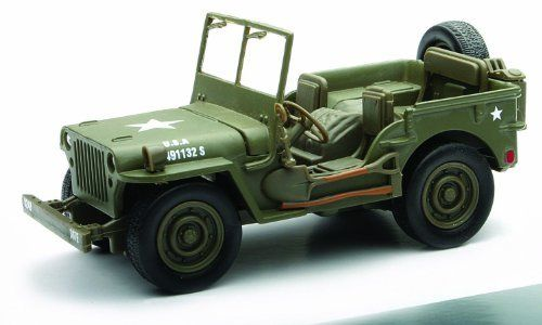 Jeep Willys Military 1 32 Scale Pullback By Newray 8 98