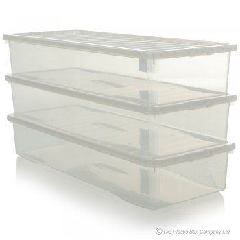 Buy Extra Long And Shallow Plastic Storage Box Perfect For Reptiles
