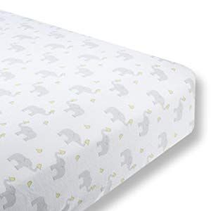 Swaddledesigns Cotton Crib Sheet Made In Usa Premium