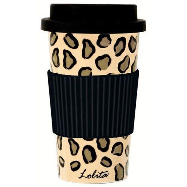 Lolita Leopard 16oz Ceramic Travel Mug